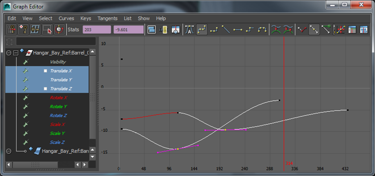 Controlling Velocity in Maya