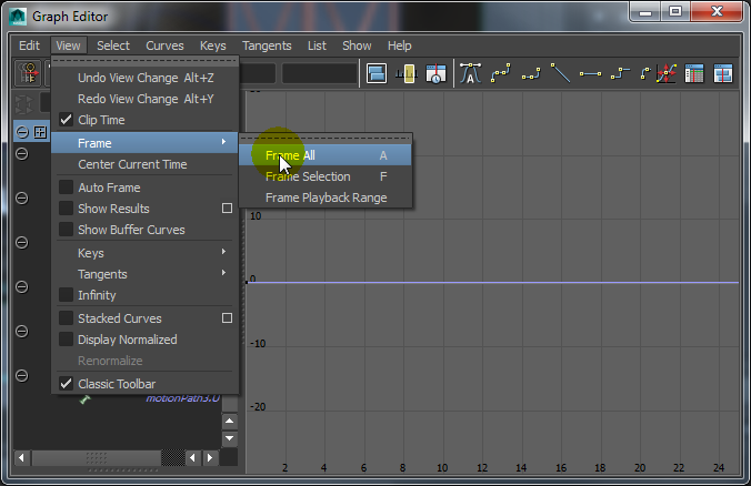 Retiming an Animation in Maya